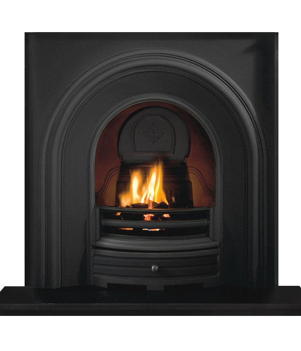 The Penman Collection Falkirk Cast Iron Gas Fire Insert