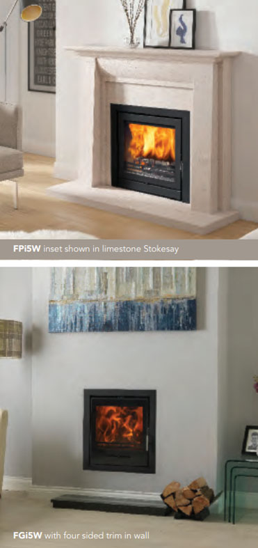 Fireline FPi5W & FGi5W Multi-Fuel Stoves