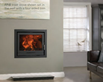 Fireline FPi8 Multi-Fuel Stoves