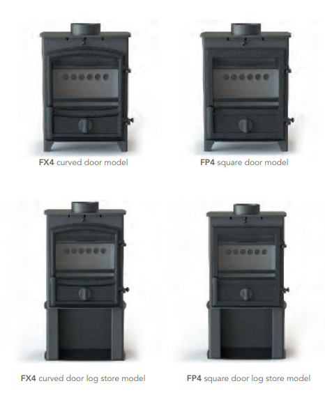 Fireline FX4 & FP4 Multi-Fuel Stoves