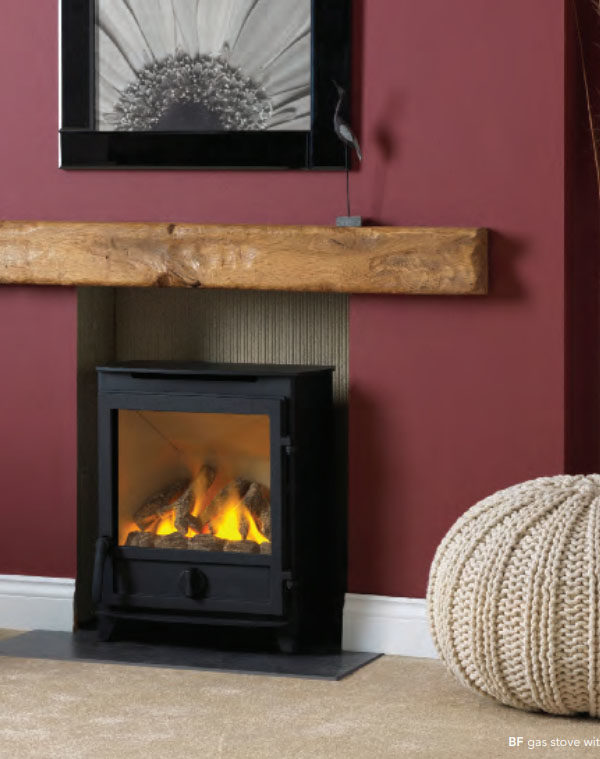 Fireline FXW BF & FPW BF Gas-Burning Stoves