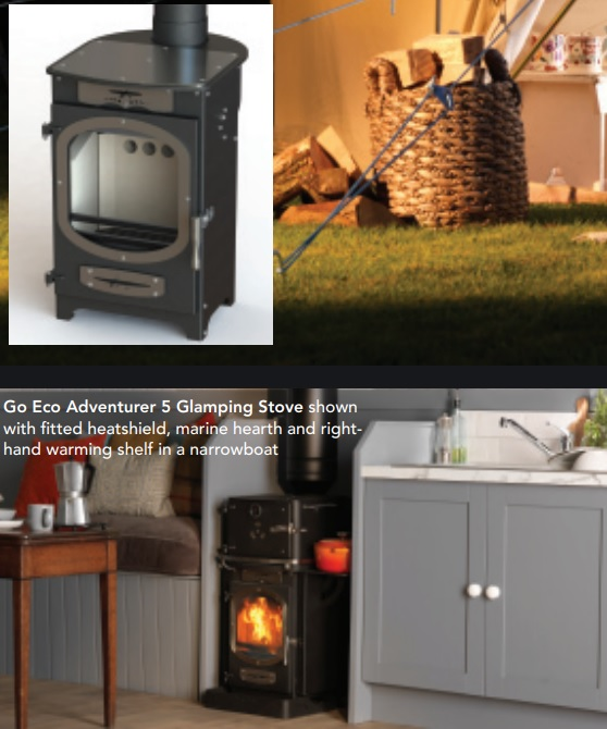 Go Eco Adventurer5 Glamping Stove