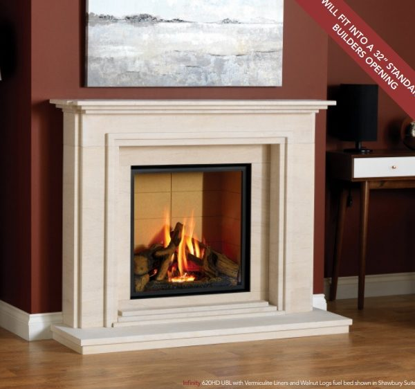 Infinity 620HD UBL Gas Fire