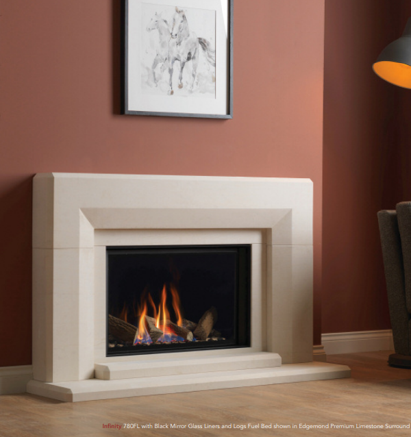 Infinity 780FL Gas Fire