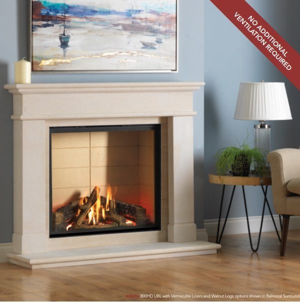 Infinity 800HD UBL Gas Fire