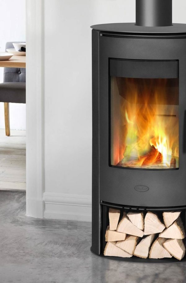 The Penman Collection Kassel Cylindrical Wood Burning Stove
