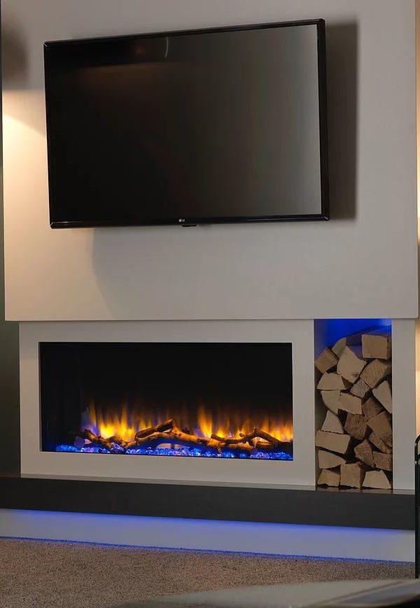 Katell Italia Eco 57″ Parma Electric Fire