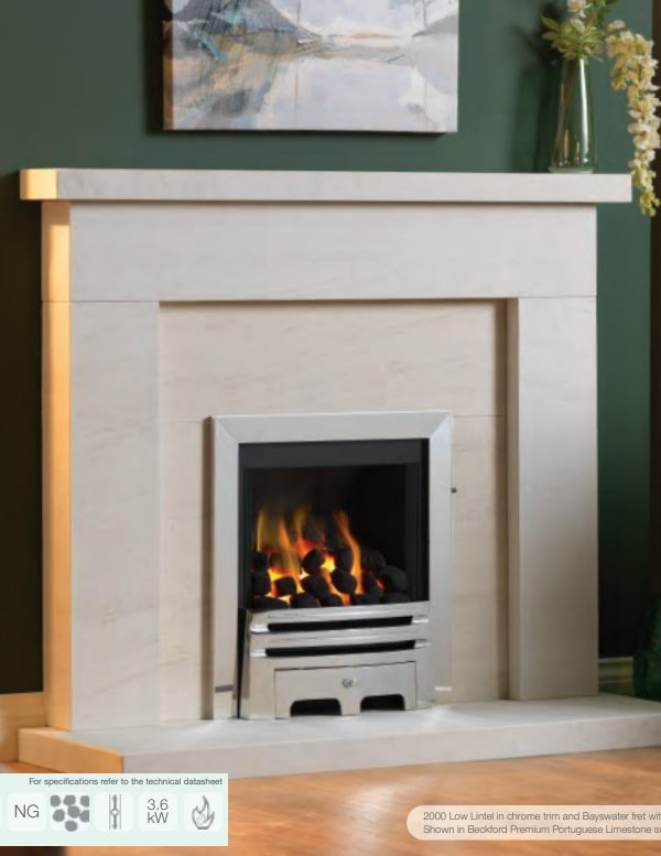 Paragon 2000 Low Lintel Gas Fire