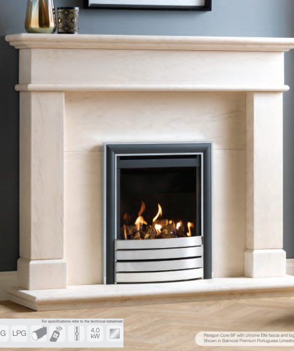 Paragon Core BF Gas Fire