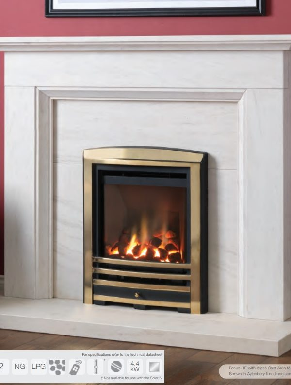 Paragon Focus HE Gas Fire