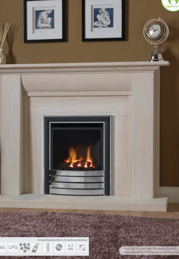 Paragon Focus RS Plus Gas Fire