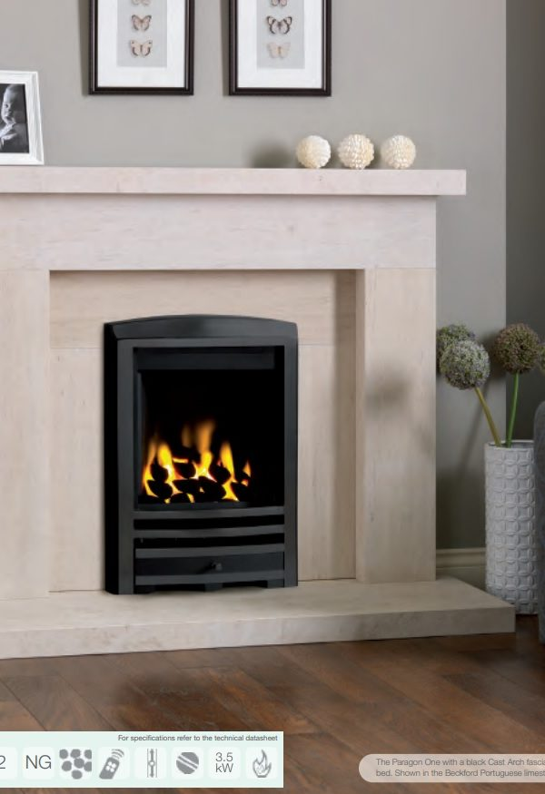 Paragon One Gas Fire