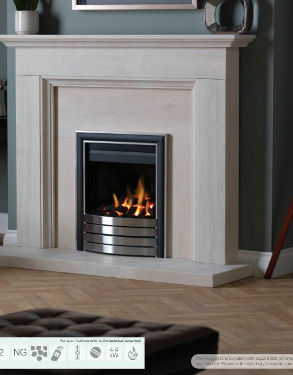 Paragon One Evolution Gas Fire