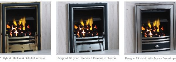 Paragon P3 Hybrid Series Gas Fire