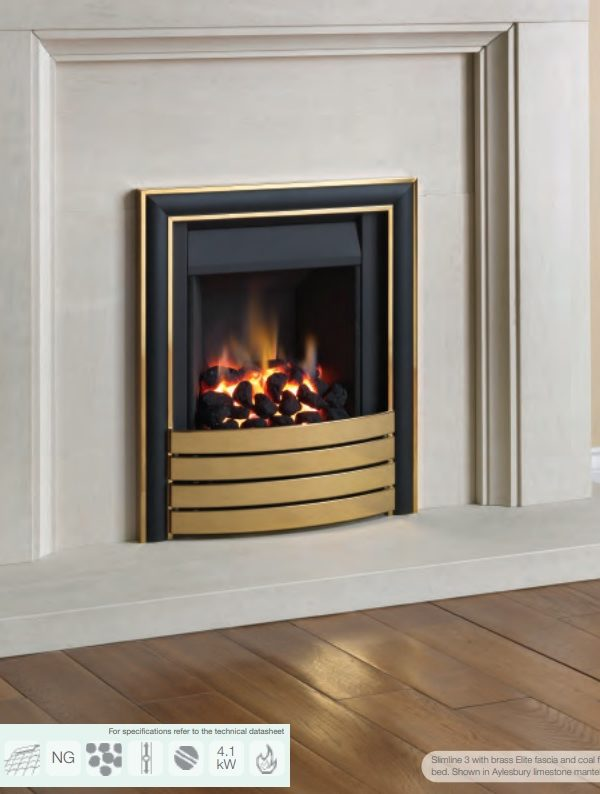 Paragon Slimline 3 Gas Fire