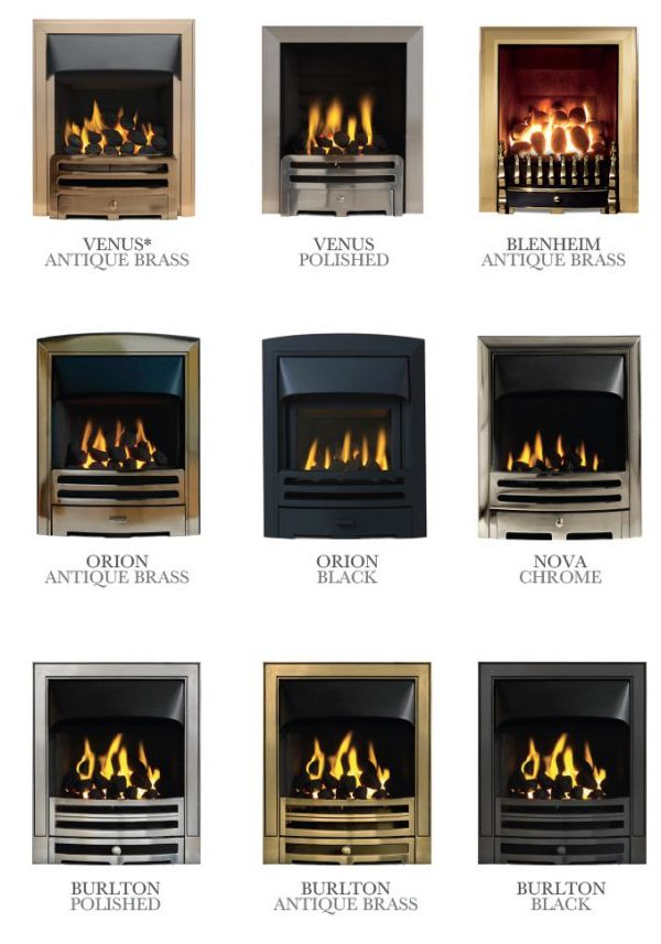 The Penman Collection Inset Gas Fire Range