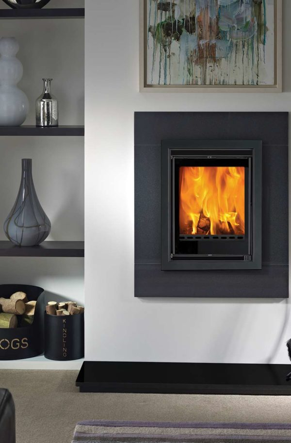 The Penman Collection Savona Inset Wood Burning Stove