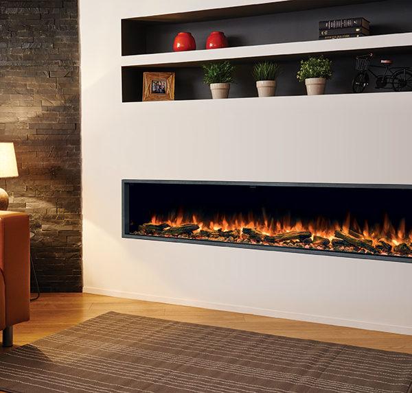 Stovax & Gazco eReflex 195R Inset Electric Fires