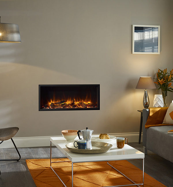 Stovax & Gazco eReflex 85R Inset Electric Fires