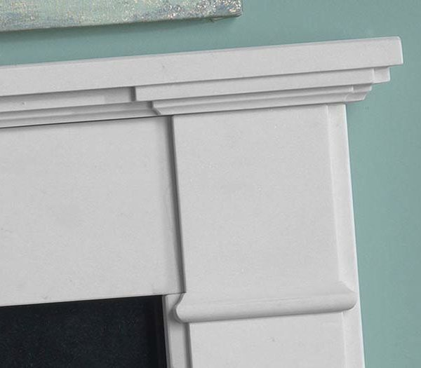 The Penman Collection Agean Limestone Velletri Mantel