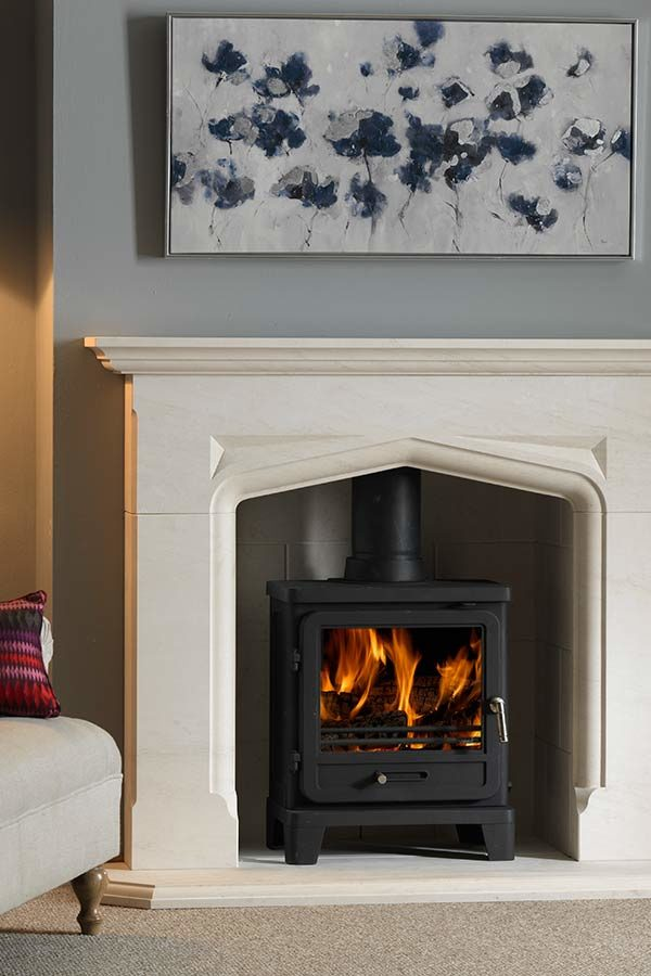 The Penman Collection Portuguese Limestone Delamere Mantel