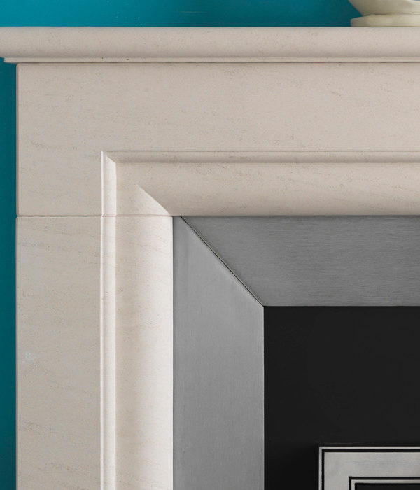 The Penman Collection Portuguese Limestone Monza Mantel