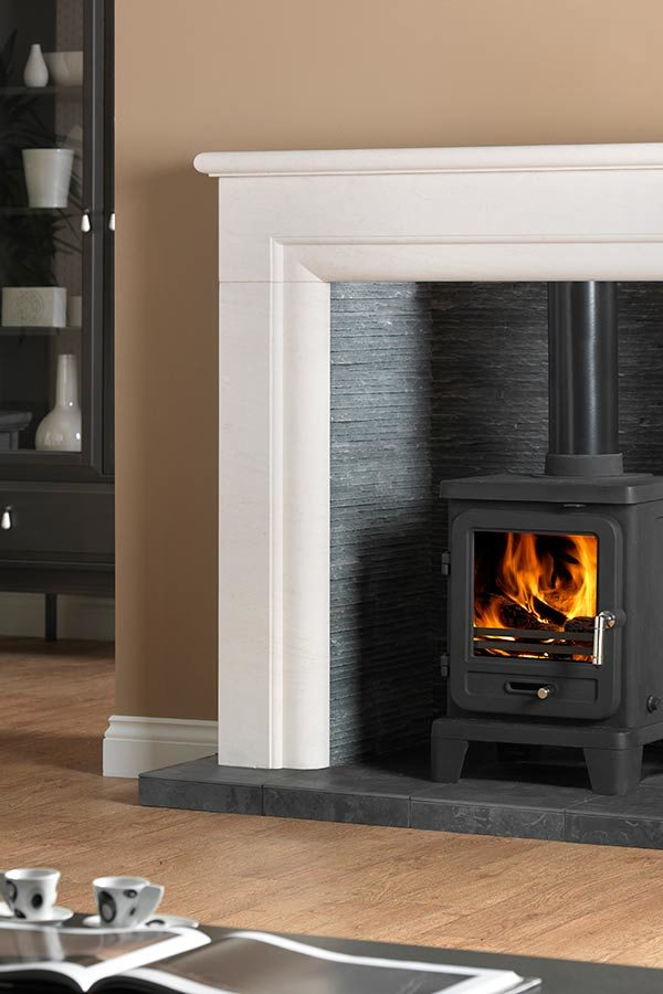 The Penman Collection Vega Edge 100 Wood Burning Cleanburn Stove
