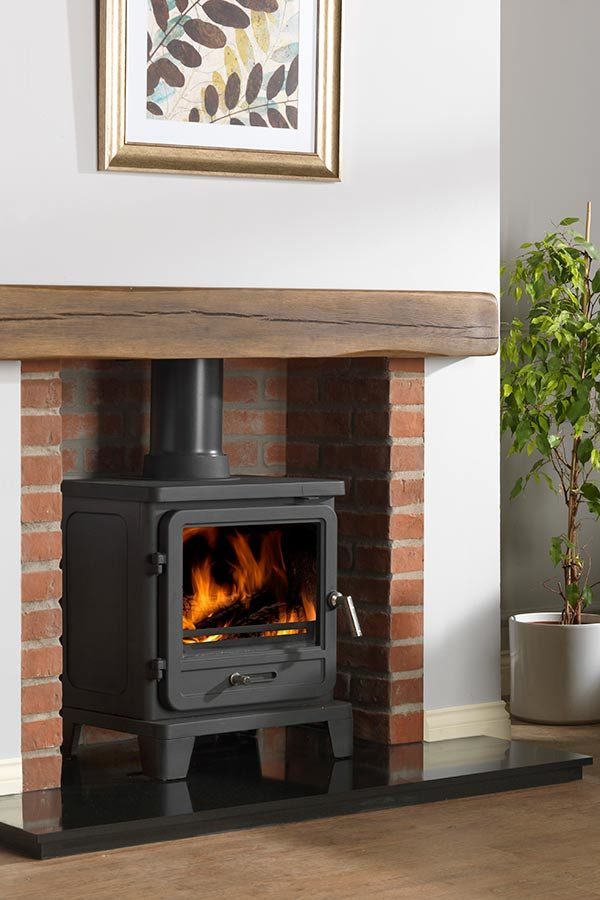The Penman Collection Vega Edge 200 Clean Wood Burning Smokeless Fuel Stove