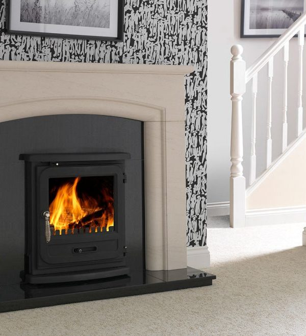 The Penman Collection Vega Edge Inset Clean Wood Burning and Multifuel Stove