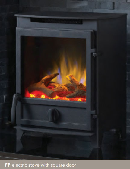 Fireline FP/FX Electric Stoves with 3D Ecoflame Technology