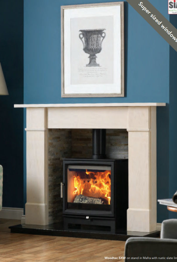 Fireline Woodtec 5XW Wood-Burning Stoves