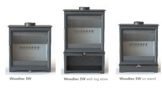 Fireline Woodtec 5W Wood-Burning Stoves