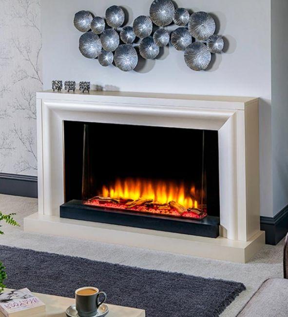 Katell Italia Eco 56″ Clarenza Electric Fire