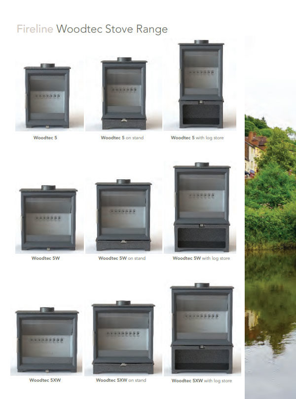 Fireline FPW & FXW Gas-Burning Stoves